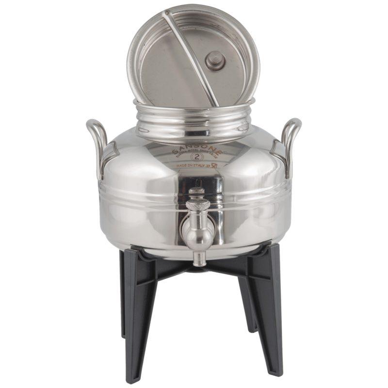 2 Liter Stainless Steel Container - Sansone