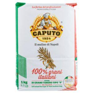 Farina 100% Grani Italiani, Grano Nostrum Caputo 1 Kg