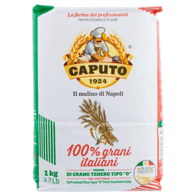 Flour 100% Italian grains, Grano Nostrum Caputo 1 Kg