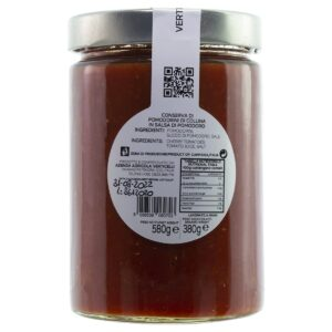 Conserva di Pomodorini di Collina in Salsa di Pomodoro Verticelli 580g