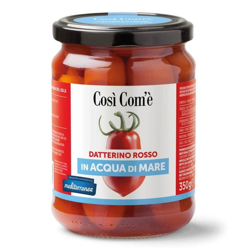 Datterino Rosso in Sea Water So Com & #039; is 350g